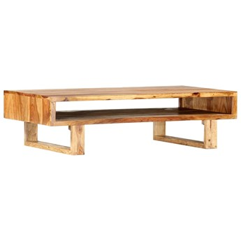 vidaXL Stolik kawowy, 110x55x30 cm, lite drewno sheesham