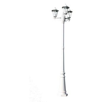 """vidaXL Lampa ogrodowa, stojąca """"Wilanów"""" 215cm wysoka."""