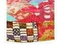 Materiałowa sofa Dina - patchwork Kategoria Sofy ogrodowe Kolor Wielokolorowy