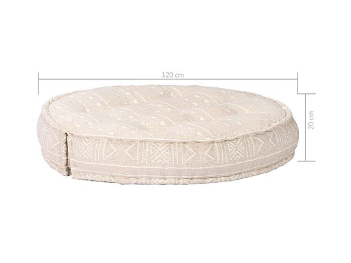 Materiałowa sofa Dina - beżowa Kolor Beżowy Kategoria Sofy ogrodowe