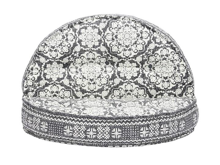 Materiałowa sofa Dina - ażurowa Głębokość 120 cm Szerokość 120 cm Kolor Szary Modułowe Materiał obicia Tkanina