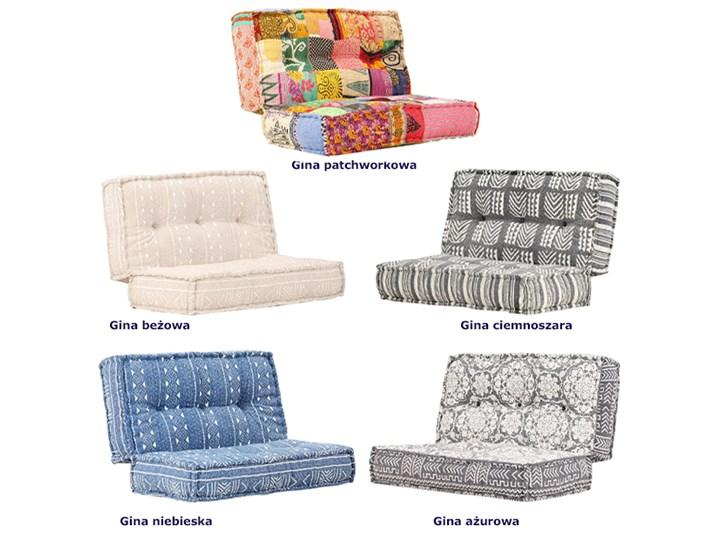 Kwadratowa piankowa sofa Gina - beżowa Kolor Beżowy Kategoria Sofy ogrodowe