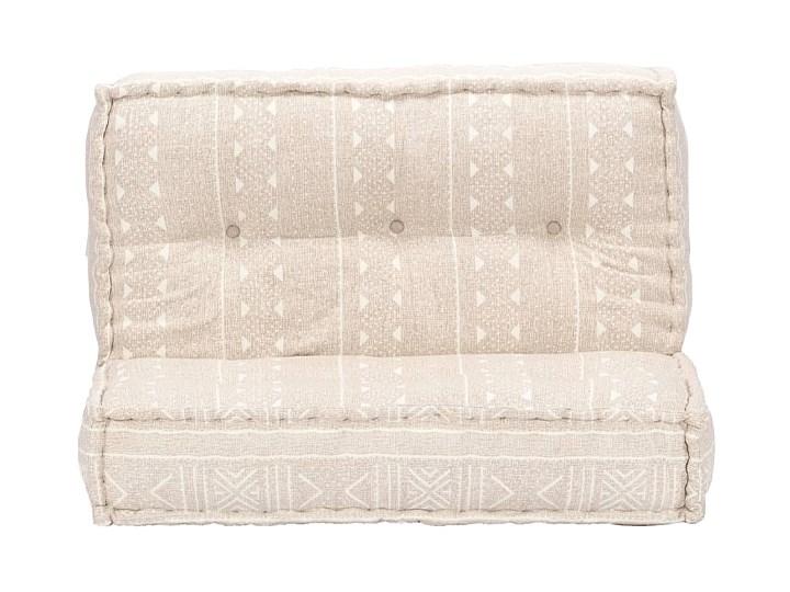 Kwadratowa piankowa sofa Gina - beżowa Kolor Beżowy