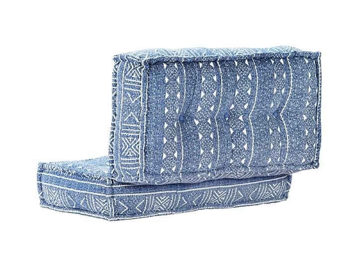 Kwadratowa piankowa sofa Gina - niebieska Kolor Kategoria Sofy ogrodowe
