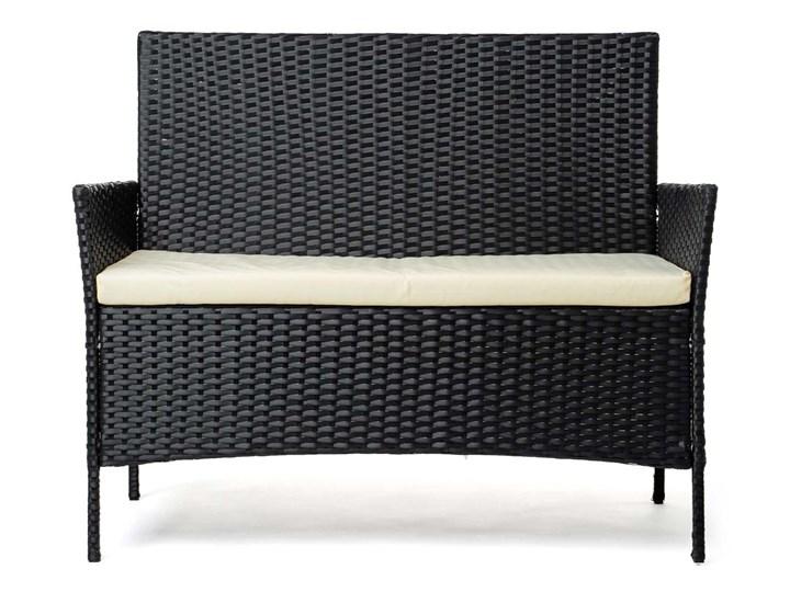 MEBLE OGRODOWE RATTAN TECHNORATTAN P50406 CZARNE Kolor Czarny Stoły z krzesłami Zawartość zestawu Stolik