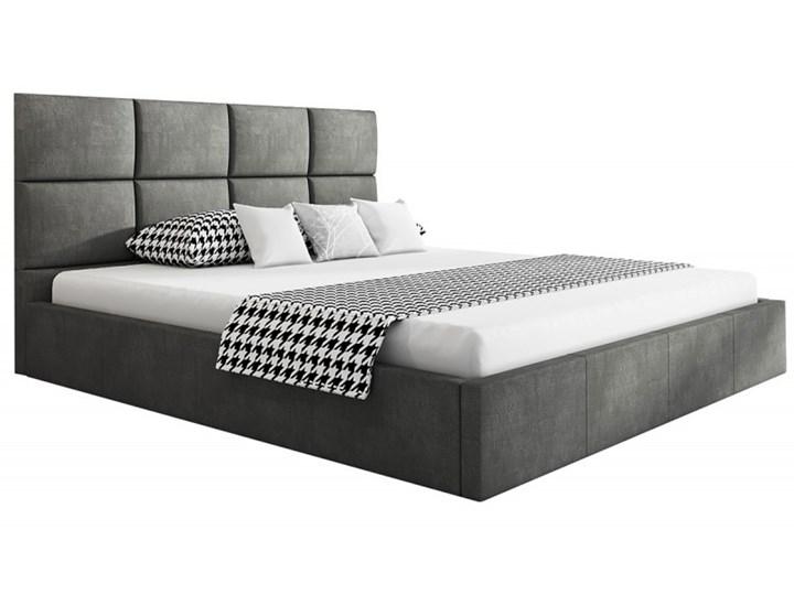 Łóżko tapicerowane TEO SLIM 140X200 z pojemnikiem