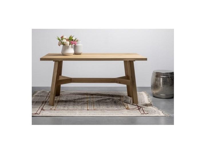 ANNE stół z litego drewna dębowego styl skandynawski
