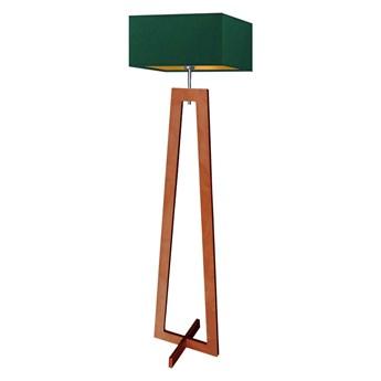 Drewniana lampa stojąca JAWA GOLD WYSYŁKA 24H
