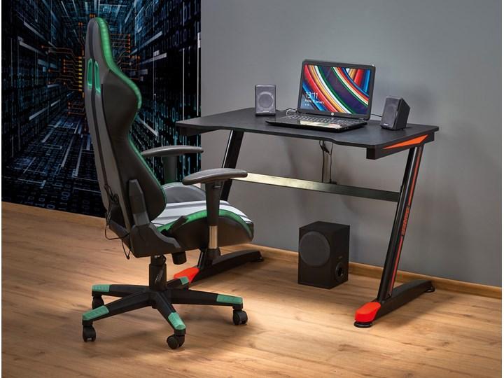 Gamingowe biurko z oświetleniem LED B40 Głębokość 60 cm Stal Szerokość 100 cm Biurko komputerowe Płyta MDF Biurko z nadstawką Biurko gamingowe Metal Kategoria Biurka