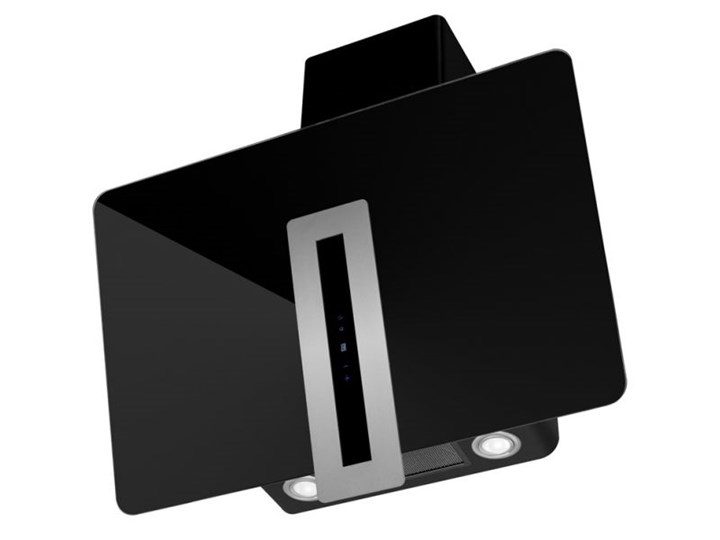 Okap kominowy Optima Black 60 cm Kolor Czarny