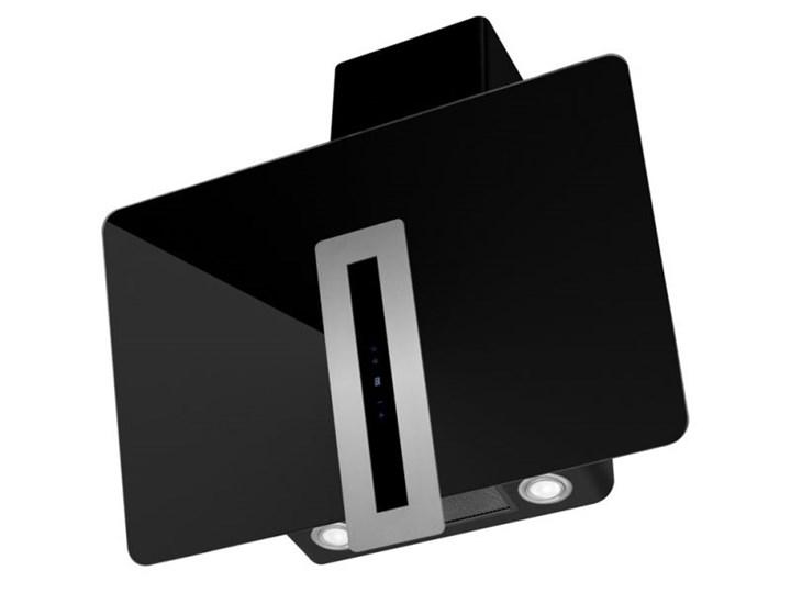 Okap kominowy Optima Black 90 cm Szerokość 60 cm Poziom hałasu 42 dB Sterowanie Elektroniczne