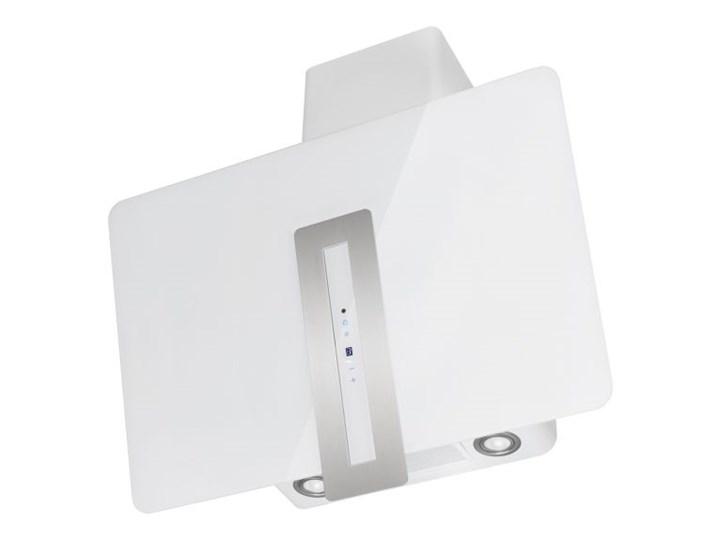 Okap kominowy Optima White 90 cm Szerokość 60 cm Poziom hałasu 42 dB Kolor Biały