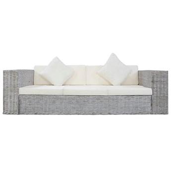 Sofa Alani 3C trzyosobowa - szara