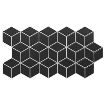 Rhombus Black 26,5x51 płytki dekoracyjne