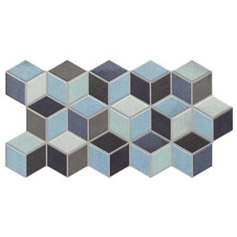 Rhombus Blue 26,5x51 płytki dekoracyjne