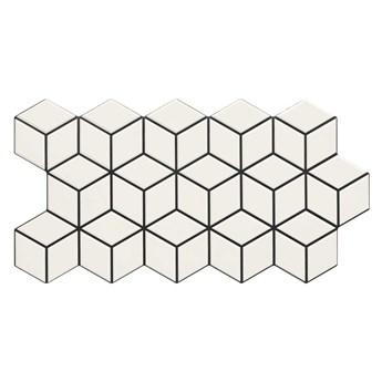 Rhombus Snow 26,5x51 płytki dekoracyjne