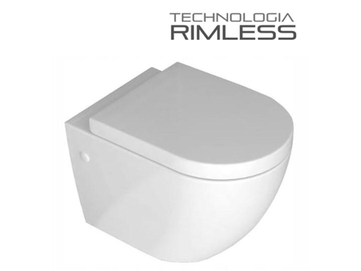 VELDMAN MISA WC RIMLESS VERA + DESKA WOLNOOPADAJĄCA Wisząca Kategoria Miski WC