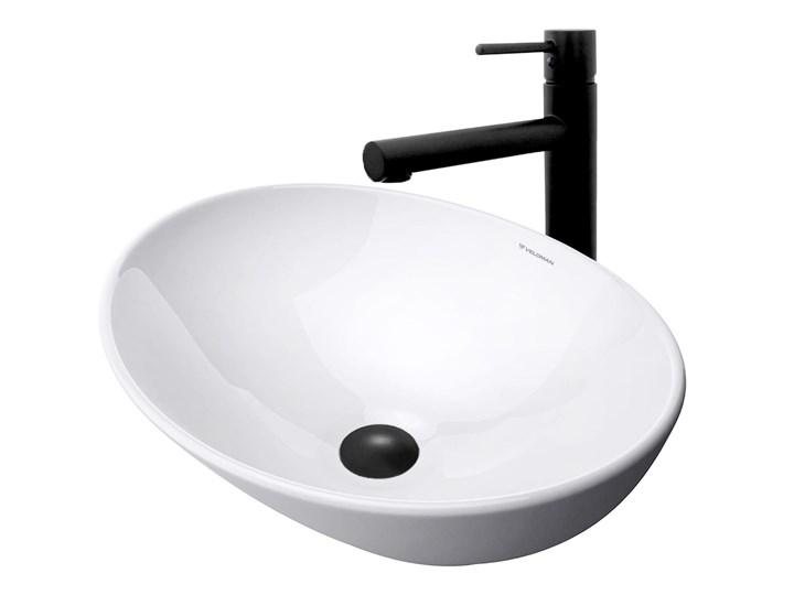 VELDMAN UMYWALKA CERAMICZNA NABLATOWA VERA Kategoria Umywalki Ceramika Owalne Nablatowe Szerokość 41 cm Kolor Biały