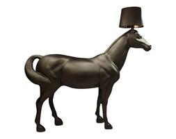 Lampa podłogowa HORSE 2 UP czarna - żywica, abs
