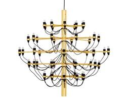 Lampa wisząca pałacowa, elegancka GINO GOLD 85 złota - stal węglowa