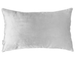 Welurowa poduszka Light Grey 30 x 50 cm