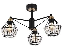 Nowoczesna czarna industrialna lampa sufitowa loft  avonni AR-1735-3BSY  salon sypialnia jadalnia kuchnia