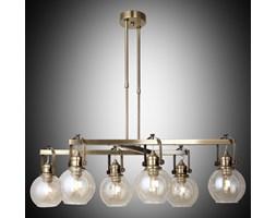 Nowoczesna patynowa industrialna lampa żyrandol loft  lucea ponte 1396-52-16  salon sypialnia jadalnia
