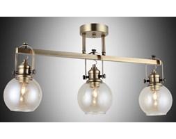 Nowoczesna patynowa industrialna lampa sufitowa loft  lucea ponte 1396-52-43  salon sypialnia jadalnia