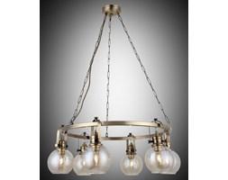 Nowoczesna patynowa industrialna lampa żyrandol loft  lucea ponte 1396-52-06  salon sypialnia jadalnia