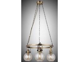 Nowoczesna patynowa industrialna lampa żyrandol loft  lucea ponte 1396-52-03  salon sypialnia jadalnia