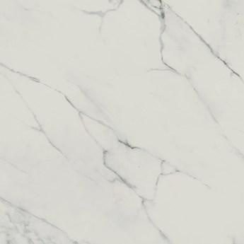Gres szkliwiony CALACATTA MARBLE white polished mat 79,8x79,8 gat. I