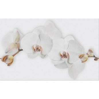 Płytka ścienna inserto MARISOL white flower glossy 25x40 gat. I*