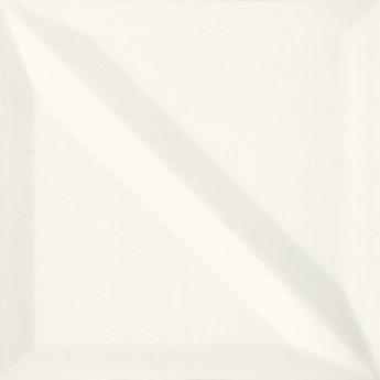 Płytka ścienna MONOBLOCK white half bar glossy 20x20 gat. I