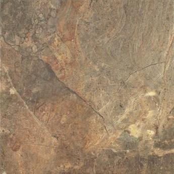 Gres szkliwiony RUSTYK brown mat 42x42 gat. I