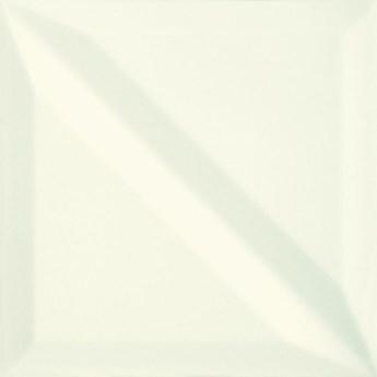 Płytka ścienna MONOBLOCK white half bar glossy 20x20 gat. II