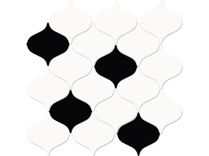 Płytka ścienna mozaika MAGNIFIQUE white-black mix glossy 28,1x29,3 ga