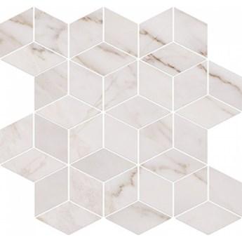 Płytka ścienna mozaika CARRARA PULPIS white glossy 28x29,7 gat. I