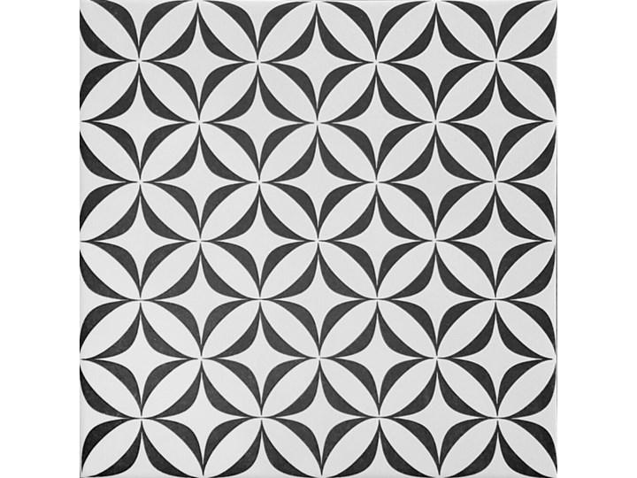Gres szkliwiony PATCHWORK CONCEPT biało-czarny vertigo mat 29,8x29,8 gat. I>>PROMOCJA -20 % z KODEM RABATOWYM >>