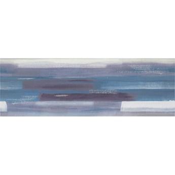 Płytka ścienna inserto ARTISTICO blue geo glossy 25x75 gat. I