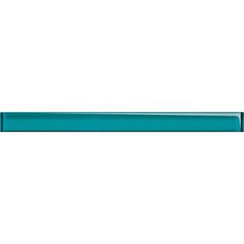 Płytka ścienna listwa szklana UNIVERSAL azure new 4,8x60 gat. I
