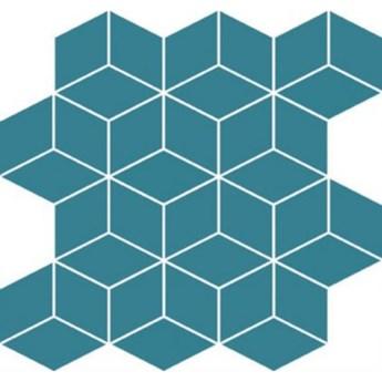 Płytka ścienna mozaika COLOUR BLINK turquoise diamond 28x29,7 gat. I