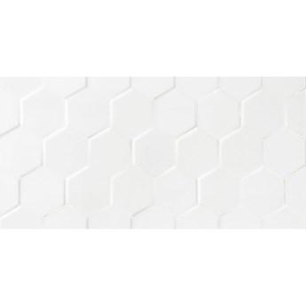 Płytka ścienna HEXAGON white shiny 30x60 gat. I