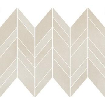 Płytka ścienna mozaika SAFARI cream chevron mix mat 25,5x29,8 gat. I
