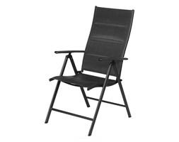 Komplet Składanych Krzeseł Ogrodowych Fdzn 5016 Czarne