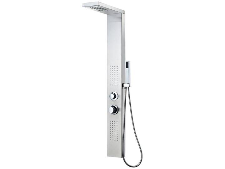 vidaXL Panel prysznicowy ze stali nierdzewnej, kwadratowy Ścienny Kategoria Panele prysznicowe