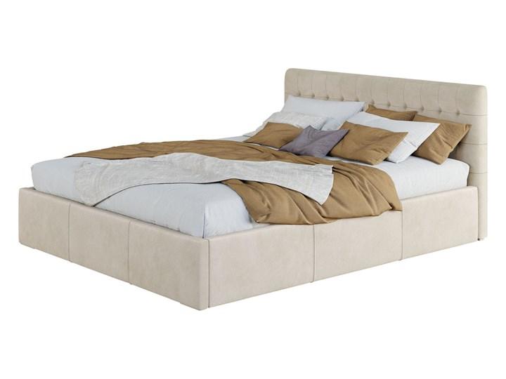 Nowoczesne łóżko do sypialni z pojemnikiem VERO / kolory do wyboru Kolor Szary Tkanina Metal Drewno Kategoria Łóżka do sypialni