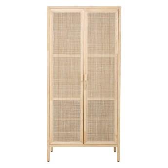 Szafa Sanna 210 x 100,5 x 57 cm naturalny drewno