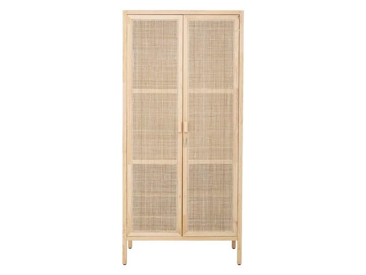 Szafa Sanna 210 x 100,5 x 57 cm naturalny drewno Szerokość 100,5 cm Wysokość 210 cm Rodzaj drzwi Uchylne
