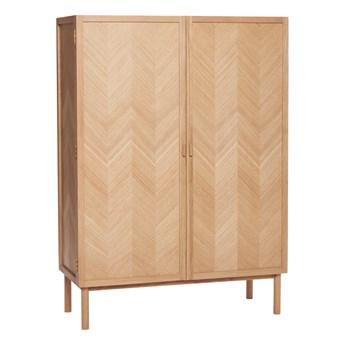 Szafa Herringbone jodełka dębowa 100x140 cm 140 x 42 x 100 cm drewno