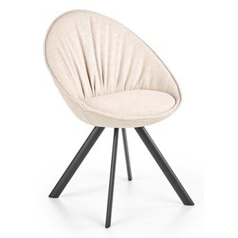 Tapicerowane krzesło do jadalni z poduszką K358